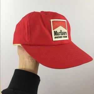 Vintage Marlboro Racing snap back